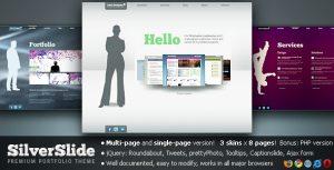 Silverslide Premium Portfolio Theme