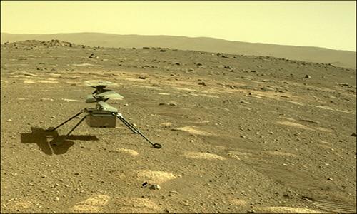 رویدادی تاریخی؛ بلندپروازی نبوغ در آسمان مریخ